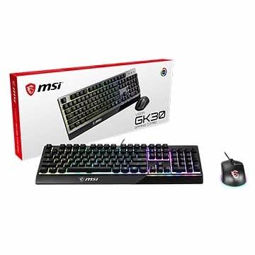 微星 MSI VIGOR GK30 Combo TC RGB 鍵盤滑鼠組