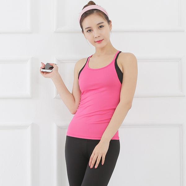 韓國健身瑜伽服上衣短袖女春夏健身房運動服跑步訓練速乾衣   - jrh0011