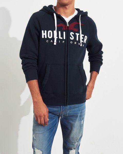 HCO Hollister Co. 男 帽T外套 J691
