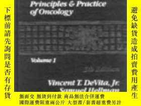 二手書博民逛書店Cancer:罕見Principles and Practice of Oncology-癌癥:腫瘤學原理與實踐奇