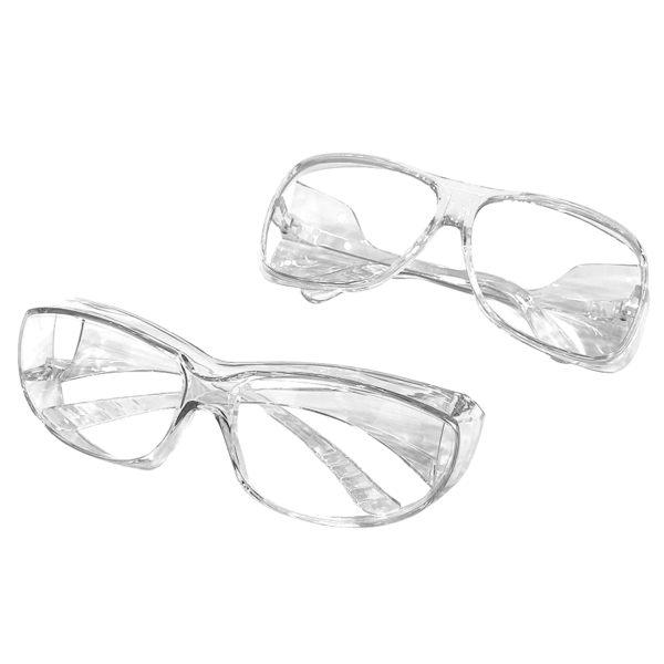 【KEL MODE】一體成形透明工作護目鏡 (大版/小版)