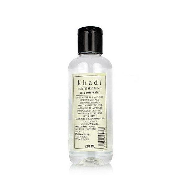 印度 Khadi 草本玫瑰水 210ml 【PQ 美妝】