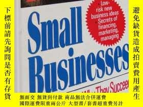 二手書博民逛書店fail-safe罕見small businesses :How