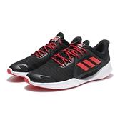 ADIDAS 慢跑鞋 CLIMA COOL VENT SUMMER 黑 紅 透氣 休閒鞋 男 (布魯克林) EG1117