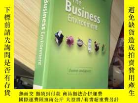 二手書博民逛書店The罕見Business Environment: Theme