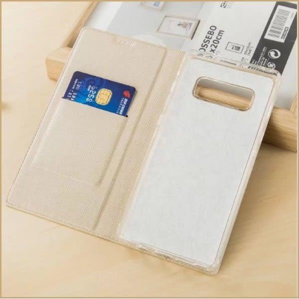 簡約皮套 三星 Galaxy Note8 手機套 防摔 支架 插卡 自動吸附 全包邊 N9500/N950F 側翻皮套 保護套