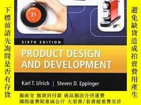 二手書博民逛書店Product罕見Design And Development, 6th EditionY364682 Kar