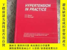 二手書博民逛書店HYPERTENSION罕見IN PRACTICE【詳看圖,免爭