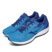 Mizuno 慢跑鞋 Spark 5 藍 白 男鞋 運動鞋 基本款 【ACS】 K1GA2003-27