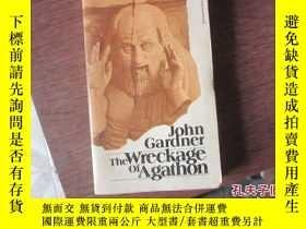 二手書博民逛書店外文罕見the wreckage of agathonY2086