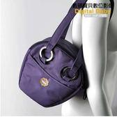 【出清特價】英國HUGGER 1846 Purple Tubby (紫水桶) 時尚相機包 單反 相機套 背包 肩背包 BGH1846