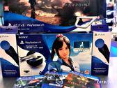 二手主機 PlayStation VR豪華全配組 夏日課程組 含附四片遊戲 極點同捆主MODE PLAY-小無電玩
