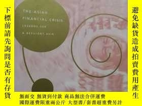 二手書博民逛書店英文原版:the罕見asian financial crisis