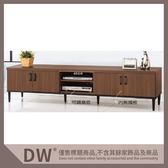 【多瓦娜】19058-384006 工業風7尺電視櫃