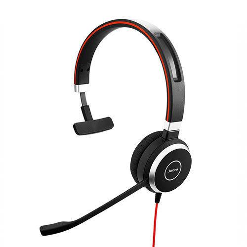 Jabra 捷波朗 EVOLVE 40 MS Mono 單耳 頭戴式耳機
