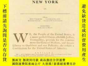 二手書博民逛書店The罕見Documentary History Of The Ratification Of The Const