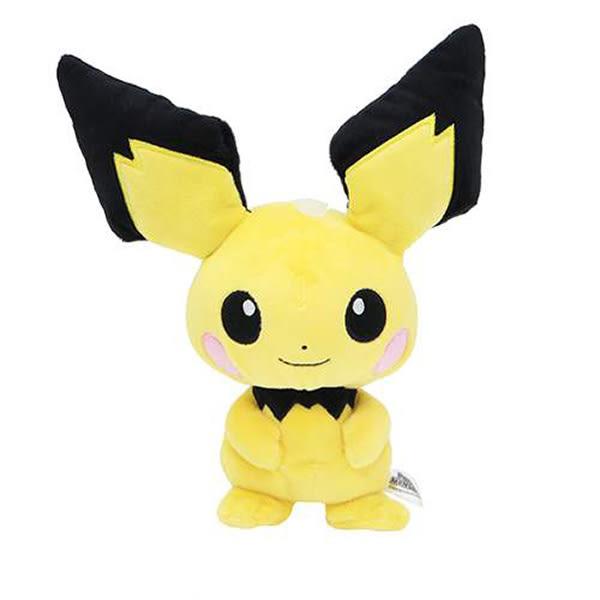 皮丘 絨毛玩偶 Pokemon 寶可夢 神奇寶貝 日本正品 S號娃娃 該該貝比日本精品 ☆