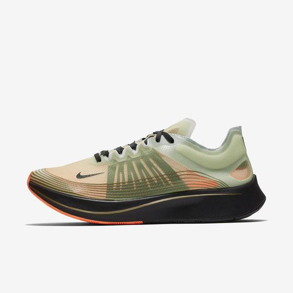 Nike Zoom Fly SP [AJ9282-200] 男鞋 慢跑 馬拉松 路跑 輕量 避震 貼合 訓練 氣墊 綠橘