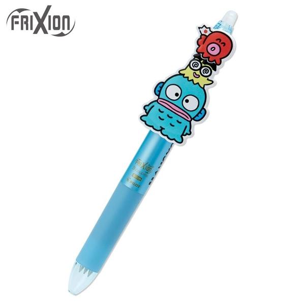 小禮堂 人魚漢頓 日製 造型擦擦筆 三色筆 多色筆 原子筆 0.38mm Frixion ball (藍) 4550337-44583