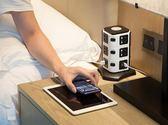 智能迷你多功能立式插座usb立體插排插線接線板塔式多孔面板創意