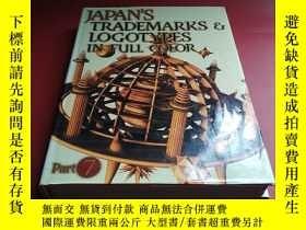 二手書博民逛書店JAPAN S罕見TRADEMARKS LOGOTYPES IN FULL COLOR PART7Y31966