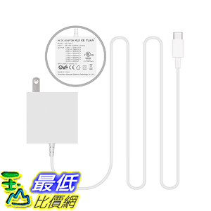 [107美國直購] 充電器 [UL Listed] TFDirect Replacement 61W 29W USB C Charger Adapter for New Late 2016
