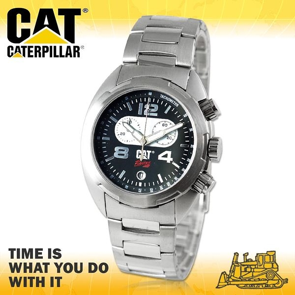 CASIO 卡西歐手錶專賣店 CATCaterpillar R2.143.11.132 男錶 美式休閒風 指針型  不鏽鋼錶殼 金屬錶帶
