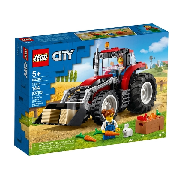 60287【LEGO 樂高積木】City 城市系列 - 拖拉機