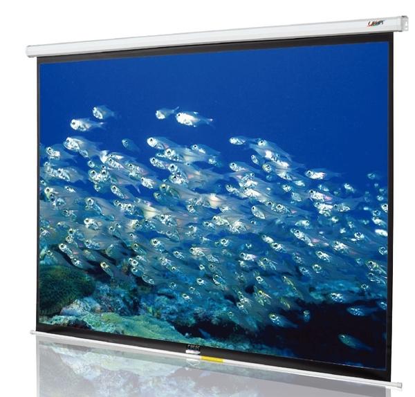 《新竹投影機布幕專賣》CASOS MM-100(4:3) 100吋手拉席白布幕
