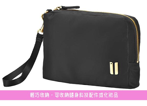 SUMDEX  簡約輕便收納包/化妝包NOA-768TK柚木色