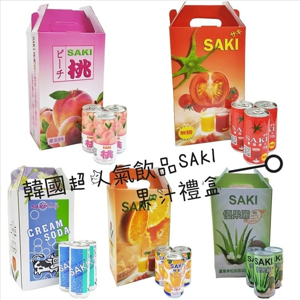 SAKI水蜜桃汁 180mlx30罐【2019040913002】(韓國飲品)