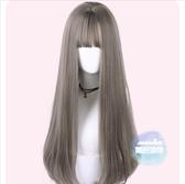 長假髮 假髮女長捲髮大波浪蓬鬆自然中長髮直髮網紅可愛假髮套全頭套式 4色