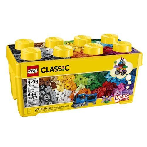 【LEGO 樂高積木】Classic系列-樂高中型創意拼砌盒桶-10696