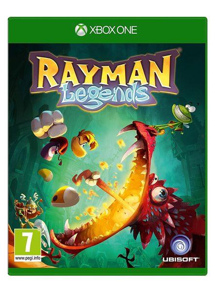 XBOX ONE 雷曼超人:傳奇(含獨佔3套服裝與10個挑戰關卡) -英文版- Rayman Legends 雷射超人