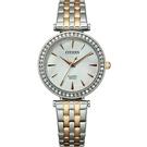 CITIZEN 星辰 LADY'S 晶鑽時尚石英女錶 ER0216-59D