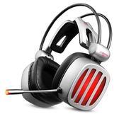 耳機頭戴式吃雞電競游戲電腦筆電7.1聲道耳麥帶話筒【極簡生活館】