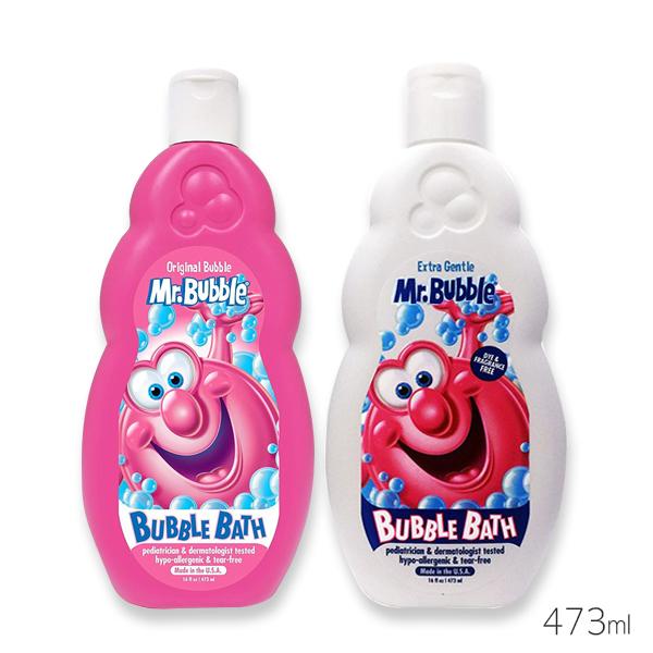 美國 Mr.Bubble 泡泡先生沐浴乳 473ml 莓果香/無香 兩款可選 泡泡浴【PQ 美妝】