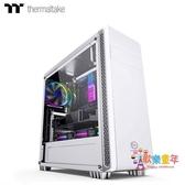 主機箱 電腦台式機水冷主機機箱側透簡約防塵小白色中塔DIY個性T 3色