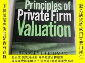 二手書博民逛書店Principles罕見of private firm valu