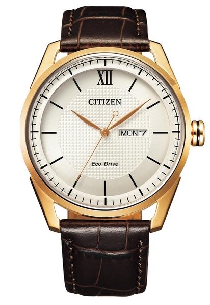 42mm【分期0利率】 星辰錶 CITIZEN 光動能 小牛皮錶帶 原廠公司貨 AW0082-19A