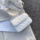 小方包 小香風菱格鏈條包包女2021新款潮韓版百搭側背斜背時尚休閒小方包 美物
