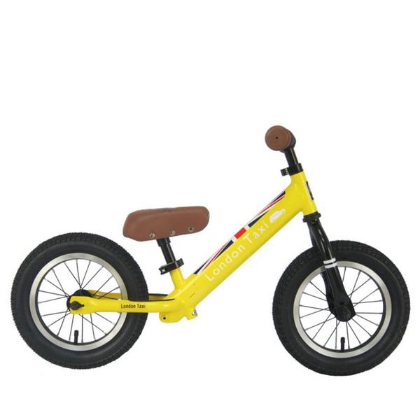 BabyPark 英國London Taxi 充氣胎平衡滑步車 黃色 平衡車 Kick bike