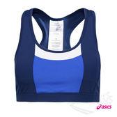 亞瑟士ASICS 女運動內衣(雙色藍) 慢跑 有氧 中強度支撑運動內衣 151379-8091【 胖媛的店 】