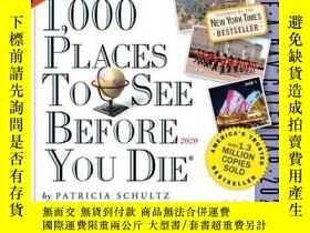 二手書博民逛書店1,000罕見Places to See Before You