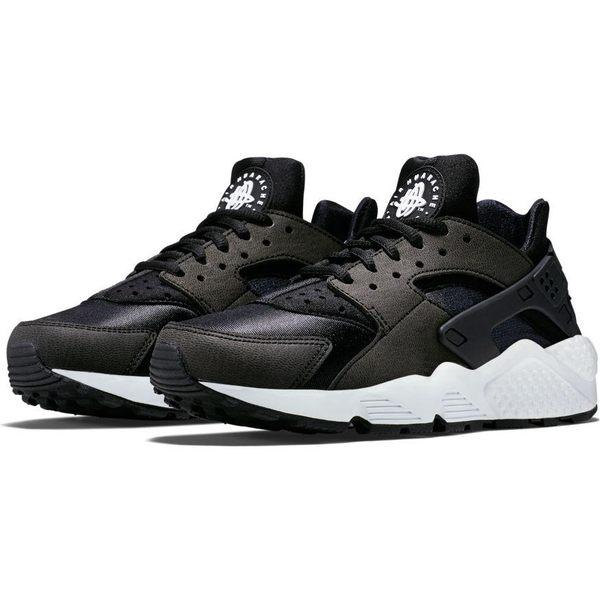 v[TellCathy]NIKE Wmns Air Huarache Run 黑 白 運動鞋 黑白 襪套式 女鞋 武士鞋 634835-006   慢跑鞋  