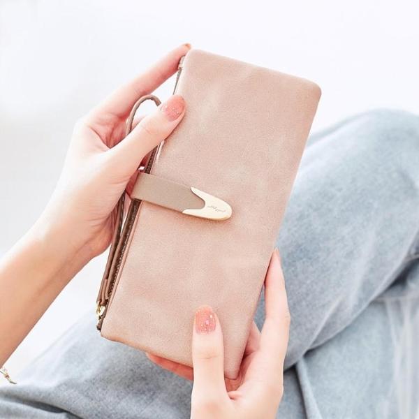 普瑞蒂錢包女長款時尚ins潮簡約百搭大氣大容量學生手拿包夾 至簡元素