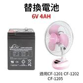 ※KINYO 耐嘉 12吋 充電式風扇-替換電池 CF-1201/CF-1202/CF-1205 充電電池 電池 備用電池 鉛酸電池