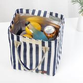 日式飯袋子手提袋大號牛津布飯包包小清新保溫袋加厚鋁箔便當包盒 【免運】
