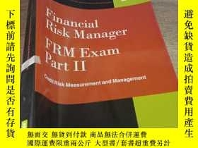 二手書博民逛書店Financial罕見risk manager frm exam