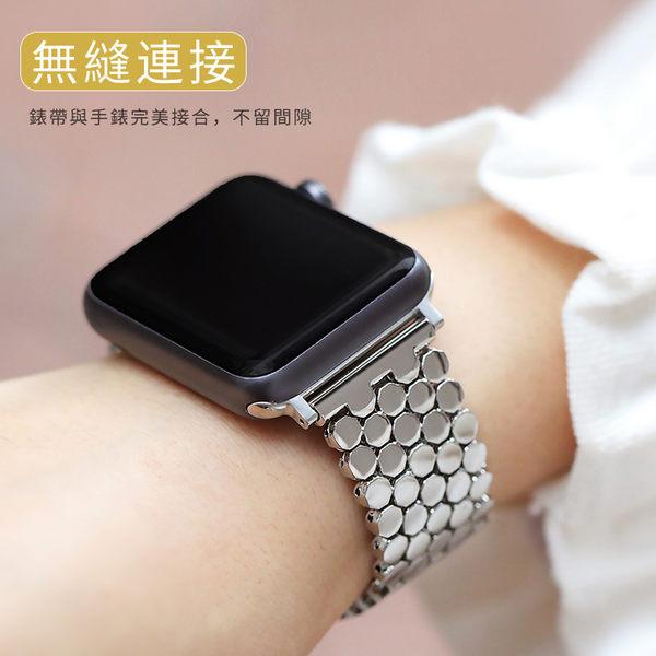 Apple Watch 123代 通用 不鏽鋼 手錶帶+連接器 金屬錶帶 42mm 38mm 智能穿戴 商務 替換帶